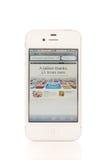 Marco miliário de AppStore Fotografia de Stock Royalty Free