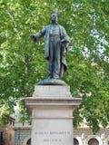 Marco Minghetti statue Bologna Italy Stock Photo