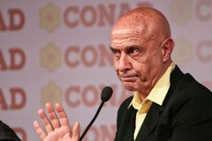 MODENA, Italy, SEPTEMBER, 2017: Marco Minniti, public politic conference Democratic Party Convention Royalty Free Stock Image