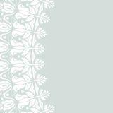 Marco moderno floral del vector Foto de archivo libre de regalías