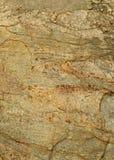 Marco muy bonito del fondo natural de la textura agrietada de la roca Fotografía de archivo