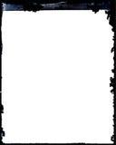 Marco negativo antiguo sucio de la foto Imágenes de archivo libres de regalías
