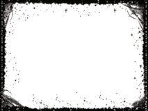 Marco negro de Grunge Imágenes de archivo libres de regalías
