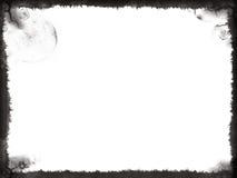 Marco negro de Grunge Fotografía de archivo libre de regalías