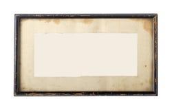 Marco negro de la vendimia Fotos de archivo