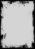 Marco negro del cepillo Foto de archivo