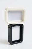 Marco negro y blanco de la foto Fotografía de archivo libre de regalías