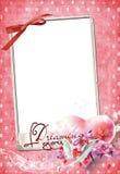 Marco No2 del amor Imagen de archivo