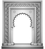 Marco oriental del estilo stock de ilustración