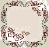 marco ornamental Fotografía de archivo