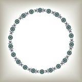 Marco ornamental del círculo Fotos de archivo