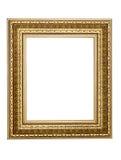 marco Oro-modelado para un cuadro Imagen de archivo libre de regalías