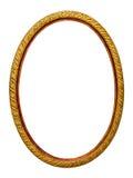 marco Oro-modelado para un cuadro Fotografía de archivo