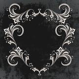 Marco oscuro de la vendimia Foto de archivo libre de regalías