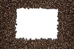 Marco oscuro del grano de café de la carne asada Imagenes de archivo