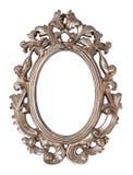 Marco oval adornado Foto de archivo libre de regalías