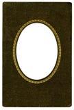 Marco oval antiguo Fotografía de archivo libre de regalías