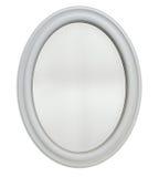 Marco oval del espejo imagen de archivo libre de regalías