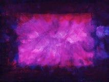 Marco púrpura del grunge Imagenes de archivo