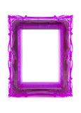 Marco púrpura del ornamento Imágenes de archivo libres de regalías