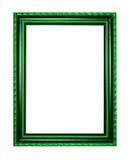 Marco para la pintura de madera o imagen en el fondo blanco Fotografía de archivo libre de regalías