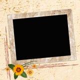 Marco para las invitaciones Imágenes de archivo libres de regalías