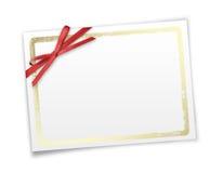 Marco para las invitaciones Fotos de archivo libres de regalías