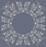 Marco para los documentos, impresión de la flor de la primavera y para su texto Imagenes de archivo