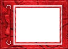 Marco para una foto o las invitaciones Imágenes de archivo libres de regalías