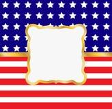 Marco patriótico Fotografía de archivo