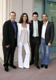 Marco Pennette, Teri Weinberg, Silvio Horta and James Hayman Stock Images