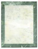 Marco-placa de mármol Fotos de archivo