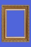 Marco plateado oro de la patio-tarifa Imagen de archivo libre de regalías