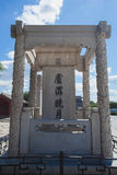 Marco Polo Bridge monument Royalty Free Stock Photography