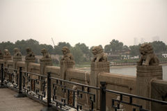 Marco Polo Bridge, Wanping, China Royalty Free Stock Photography