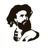 Marco Polo Retrato del vector Fotografía de archivo