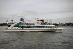Marco Polo statek Spido firma w Rotterdam zdjęcia stock