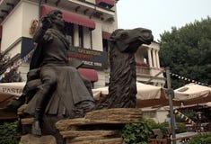 Marco Polo, Tientsin, Cina fotografia stock libera da diritti