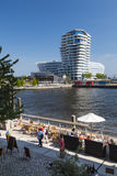 Marco Polo Tower in Hamburg, Germany, editorial Royalty Free Stock Images