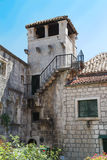 Marco Polo tower - Korcula ,  Croatia Stock Images