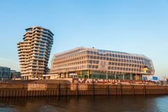 Marco Polo Tower and Unilever Building in Hamburg, Germany Royalty Free Stock Photography