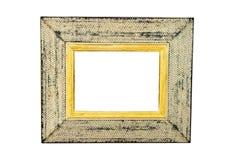 Marco rústico blanco Imagen de archivo libre de regalías