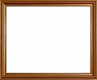 Marco rústico de oro clásico rico de la calidad de la vendimia Imágenes de archivo libres de regalías