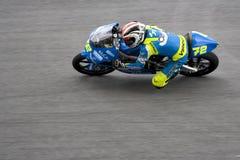 Marco Ravaioli on track Stock Photos