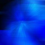 Marco redondo abstracto azul con el lugar para el texto Imagenes de archivo