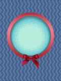 Marco redondo con el arco Imagen de archivo libre de regalías