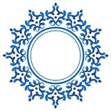 Marco redondo decorativo de cerámica libre illustration