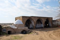 Marco religioso do túmulo de Reuven Imagem de Stock
