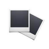 Marco retro de la foto aislado en el fondo blanco Imagen de archivo