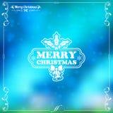 Marco retro de la Navidad Imagen de archivo libre de regalías